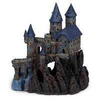 Haunted Castle: Halloween Fish Tank Decorations