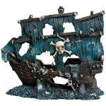 Haunted Pirate Vessel: Spooky Halloween Theme