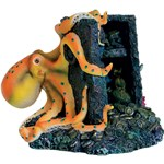 Octopus Treasure: Halloween Fish Tank Decorations