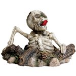 Zombie Skeleton: Halloween Fish Tank Decorations