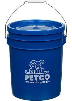 5 gallon Petco bucket