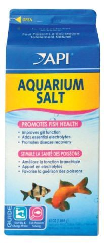 Freshwater aquarium salt can reduce stress